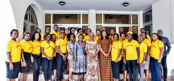 DREAMTAKERS FOUNDATION COURTESY VISIT TO H.E. MRS DOLAPO OSINBAJO (WIFE TO THE VICE PRESIDENT OF THE FEDERAL REPUBLIC OF NIGERIA)
